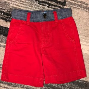 Baby Gap boys 3T red shorts